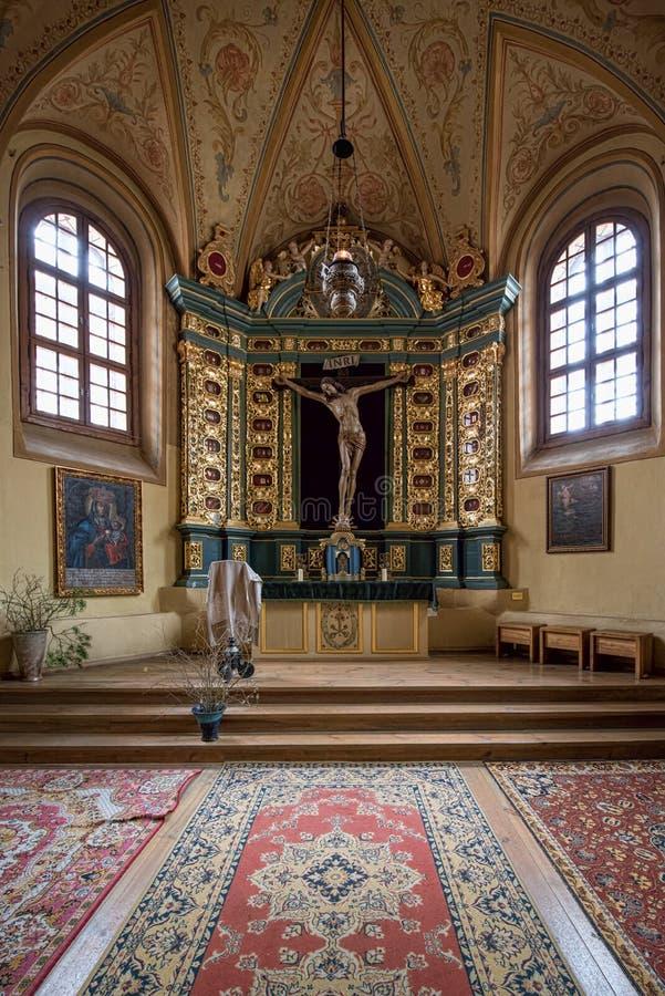 Kapel bij Kerk van St Francis en Sint-bernard royalty-vrije stock fotografie