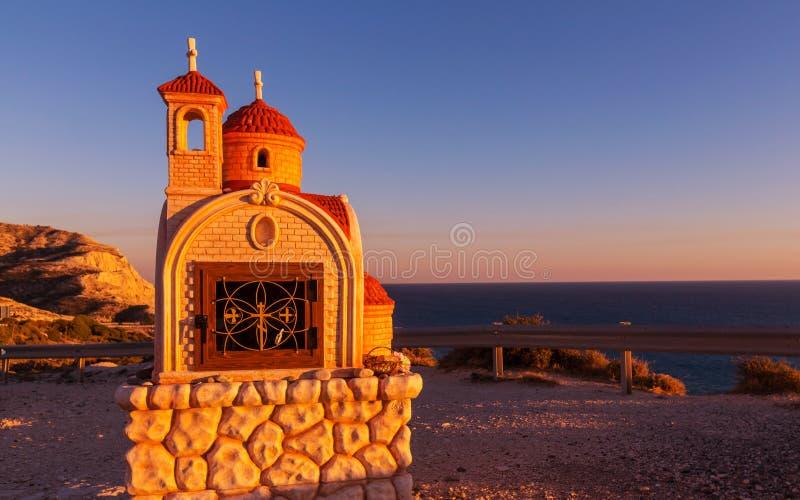 Kapel in Cyprus royalty-vrije stock fotografie