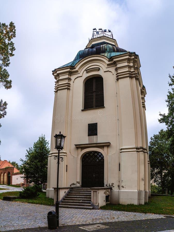 Kapel dichtbij Kathedraalbasiliek, Gniezno, Polen royalty-vrije stock foto's