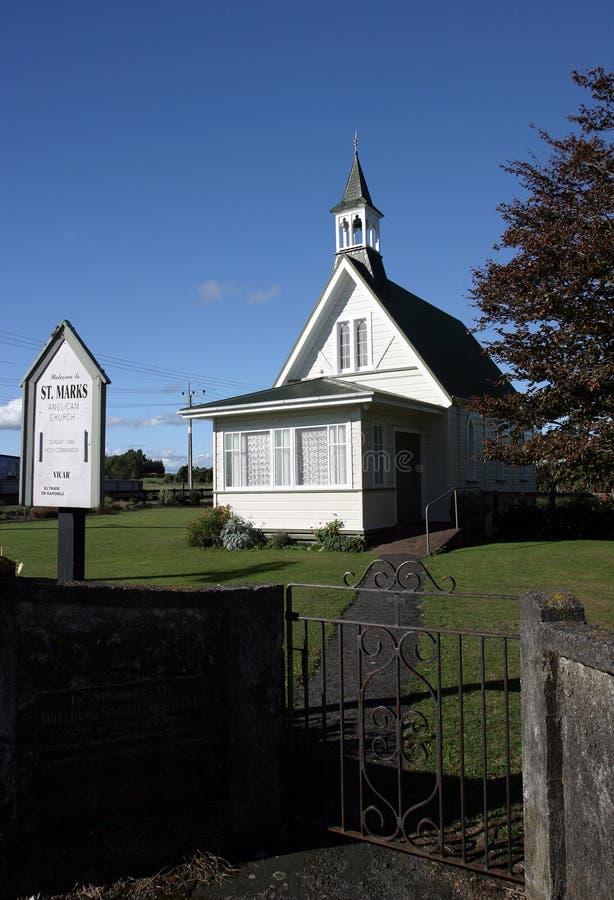 Kapel, Nieuw Zeeland stock foto's