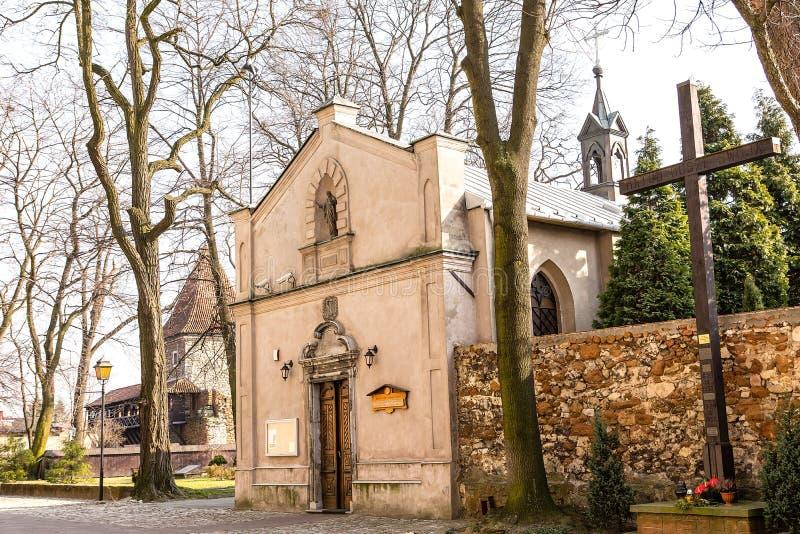 Kapel in Olkusz Polen royalty-vrije stock foto