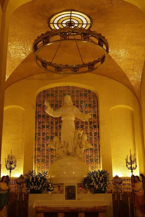Kapel van Cristo Rey, Leon, Guanajuato royalty-vrije stock foto