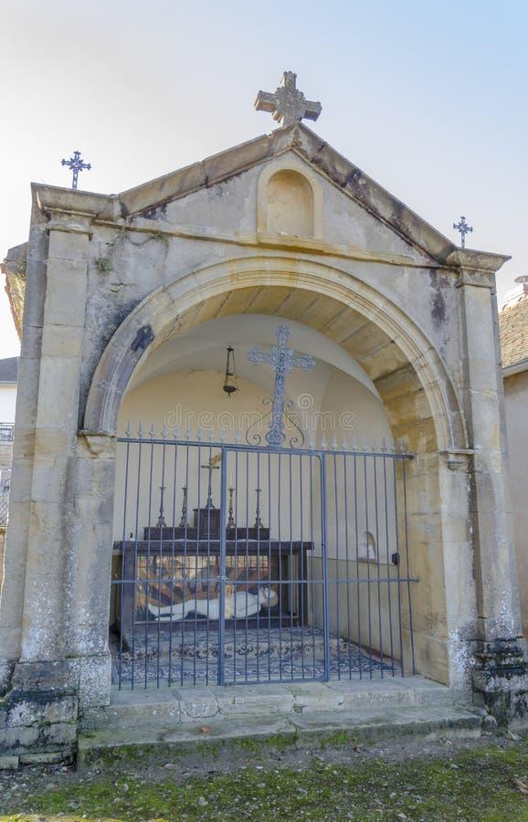 Kapel van Grote God, Charolles, Bourgondië, Frankrijk, saone-et-Loire royalty-vrije stock afbeelding