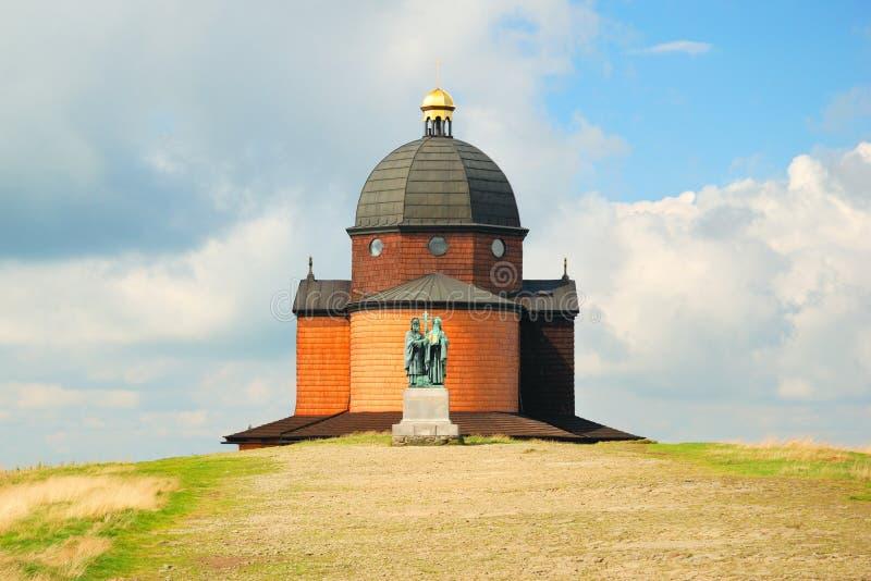 Kapel van heilige Konstantin en Methodius royalty-vrije stock afbeeldingen