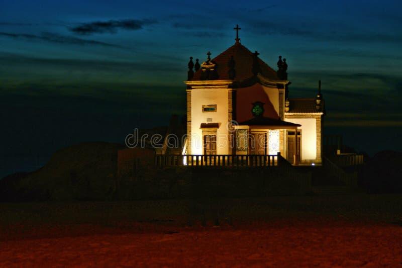 Kapel van Lord van de Rots in Miramar stock foto's