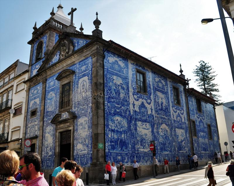 Kapel van Zielen - Porto royalty-vrije stock foto