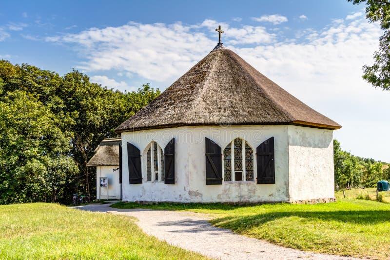 Kapel in Vitt royalty-vrije stock foto