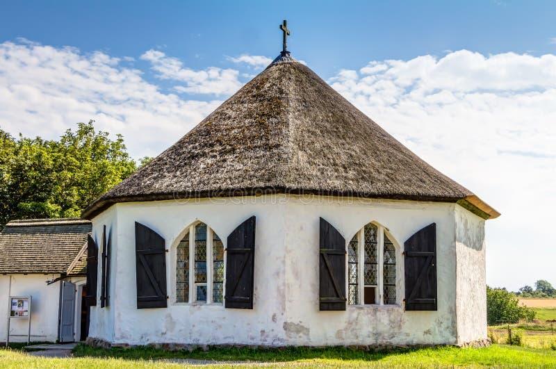 Kapel in Vitt stock afbeelding