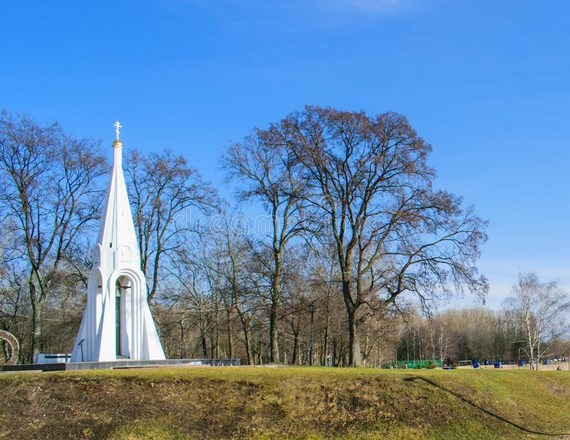 Kapell av vår Lady av Kazan i Yaroslavl royaltyfria foton