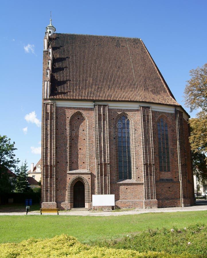 kapell gotiska poznan arkivbild