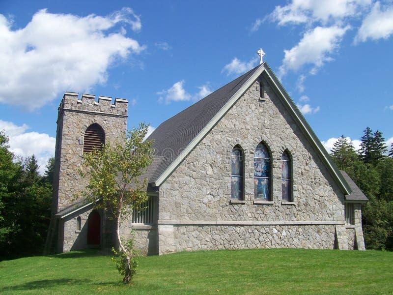 kapell maine arkivbild