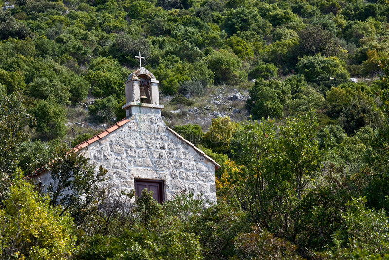 Download Kapelle stockbild. Bild von adria, tranquil, serene, mittelmeer - 9096237