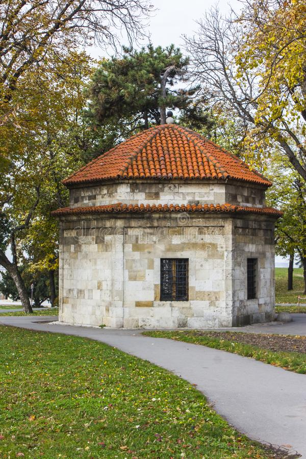 Kapelle Damad Ali Pasha in der Belgrad-Festung serbien lizenzfreie stockfotos