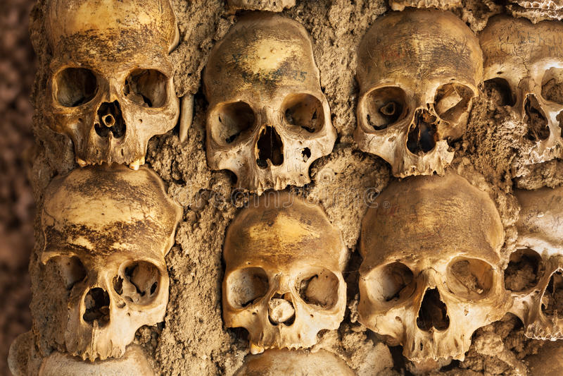 Kapelle der Knochen lizenzfreie stockbilder