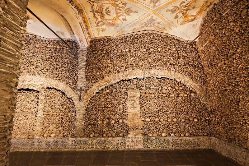 Kapelle der Knochen lizenzfreies stockbild