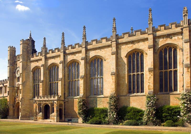 Kapelle an der Universität von Cambridge lizenzfreie stockfotografie