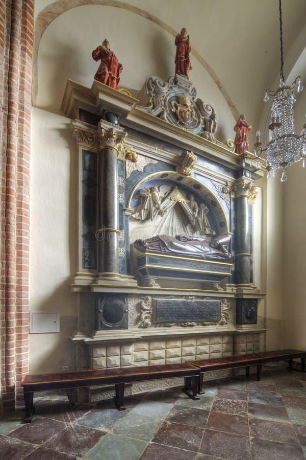 Kapelle des St Martin in der Archicathedral-Basilika in Posen in Polen lizenzfreies stockbild