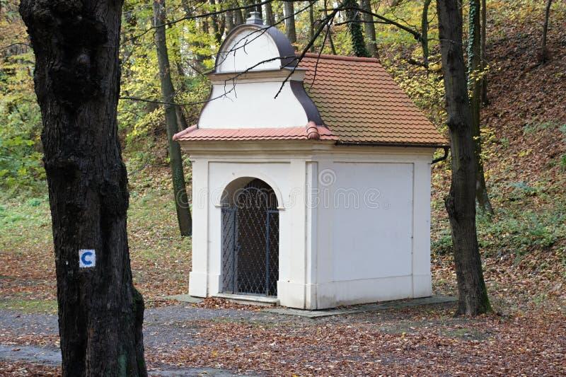 Kapelle, Marianka-Kloster - der älteste Pilgerfahrtstandort, Slowakei stockbilder