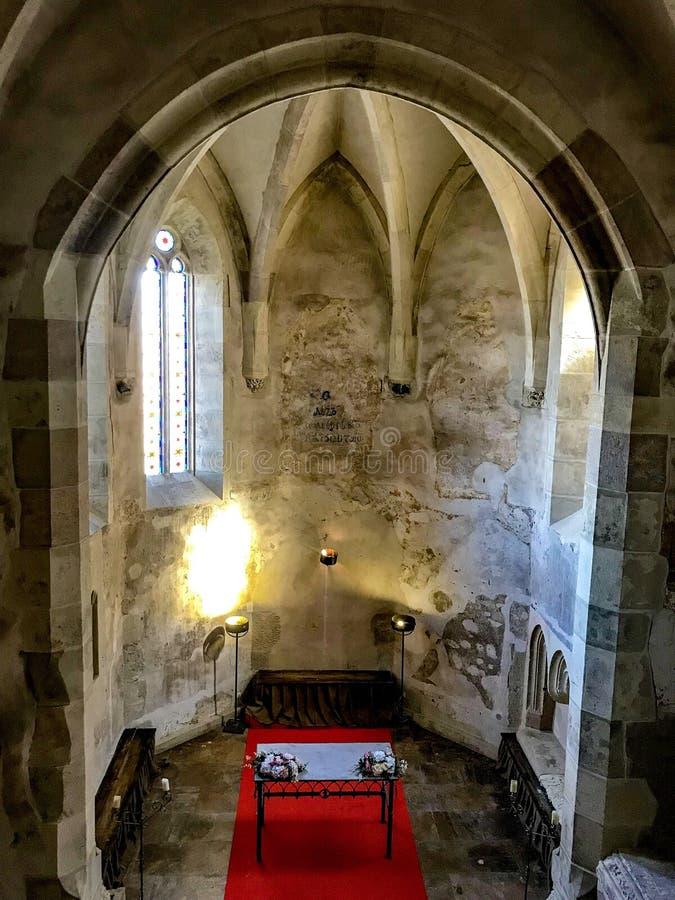 Kapelle, Palast von Corvin's stockbild