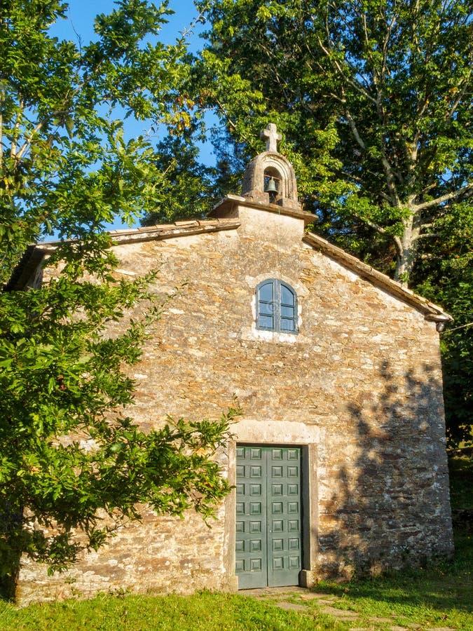 Kapelle und Schongebiet - Santa Irene lizenzfreie stockfotografie