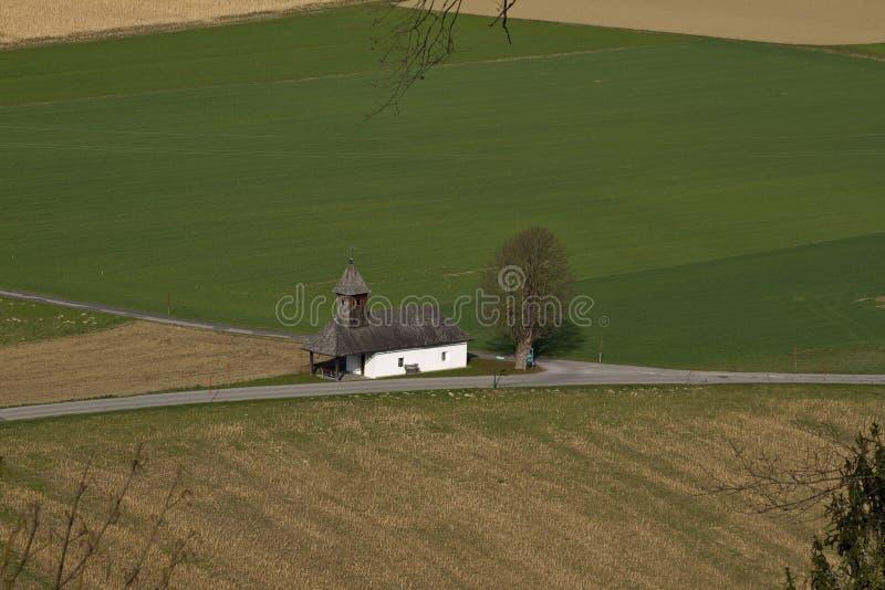 Kapelle Unsere Liebe Frau på Rosegg arkivfoton