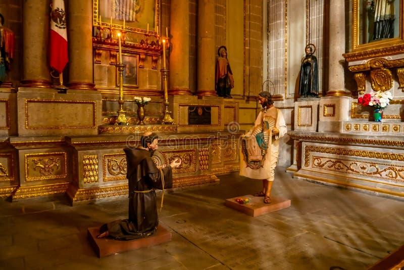 Kapelle unserer Dame von Guadalupe stockbilder