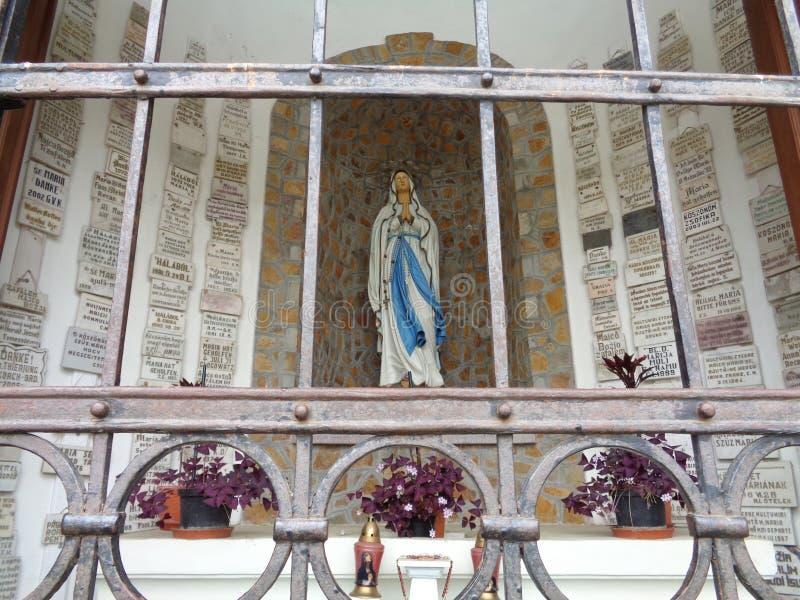 Kapelle unserer Dame von Lourdes - der Maria Radna Franciscan Monasterys - des Lipova, Arad, Rumänien lizenzfreie stockbilder