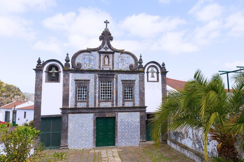 Kapelle von Caloura-Kloster auf Sao Miguel Island von Azoren, Portugal stockfotos