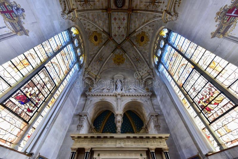 Kapelle von Chantily, Frankreich stockfotos