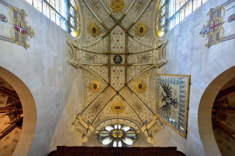 Kapelle von Chantily, Frankreich lizenzfreie stockfotografie