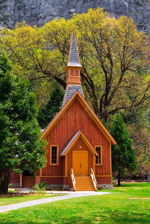 Kapelle in Yosemite stockfoto