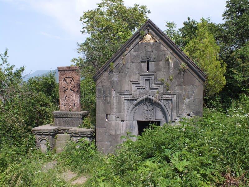 Kapellet för St Hartuin på den Sanahin kloster fotografering för bildbyråer