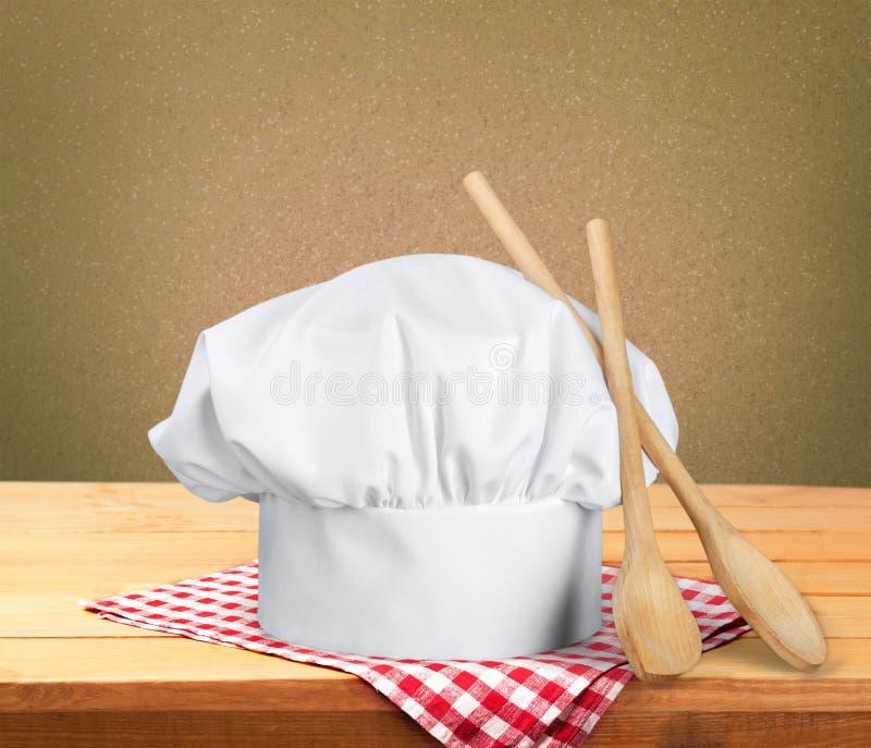 kapelusz jest szefem kuchni obraz stock