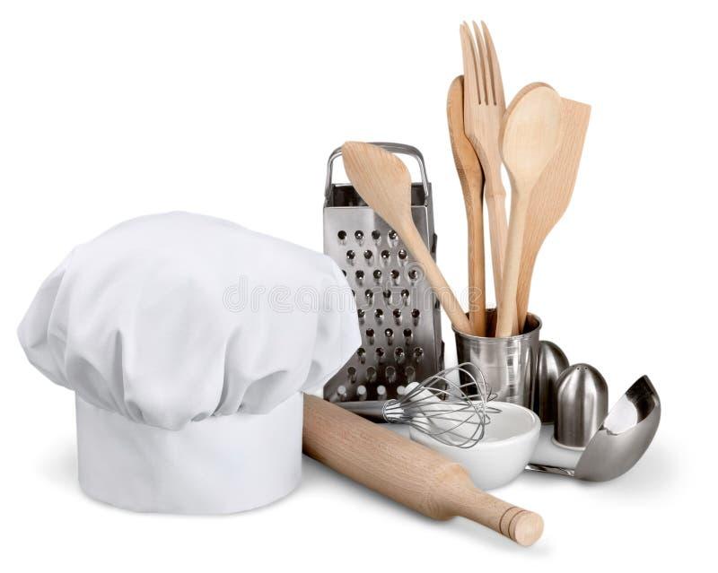 kapelusz jest szefem kuchni obrazy stock