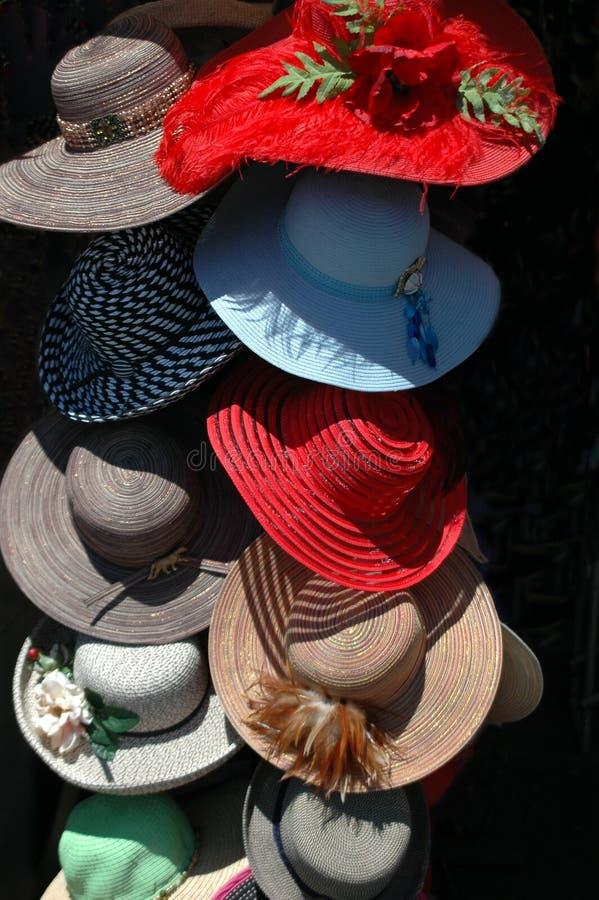 kapelusz kobiety obrazy royalty free