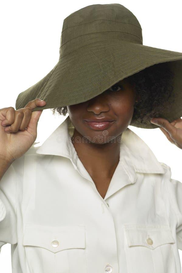 kapelusz na wyrywanie obrazy stock