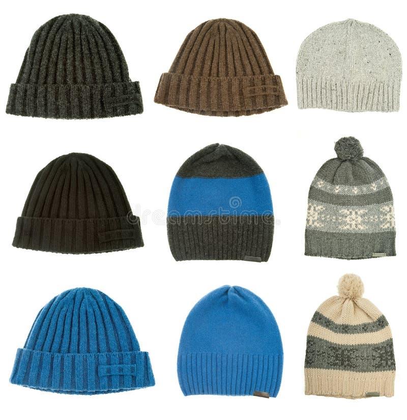 kapelusze grżą zima kobiety obraz stock