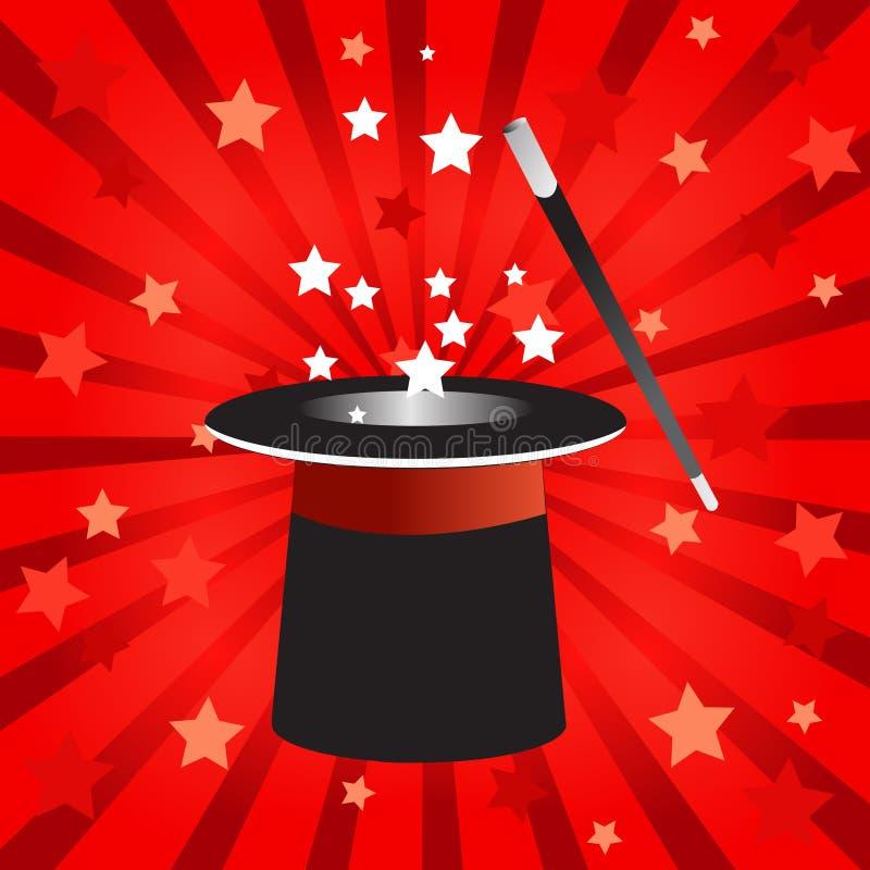 kapeluszowa magia ilustracji