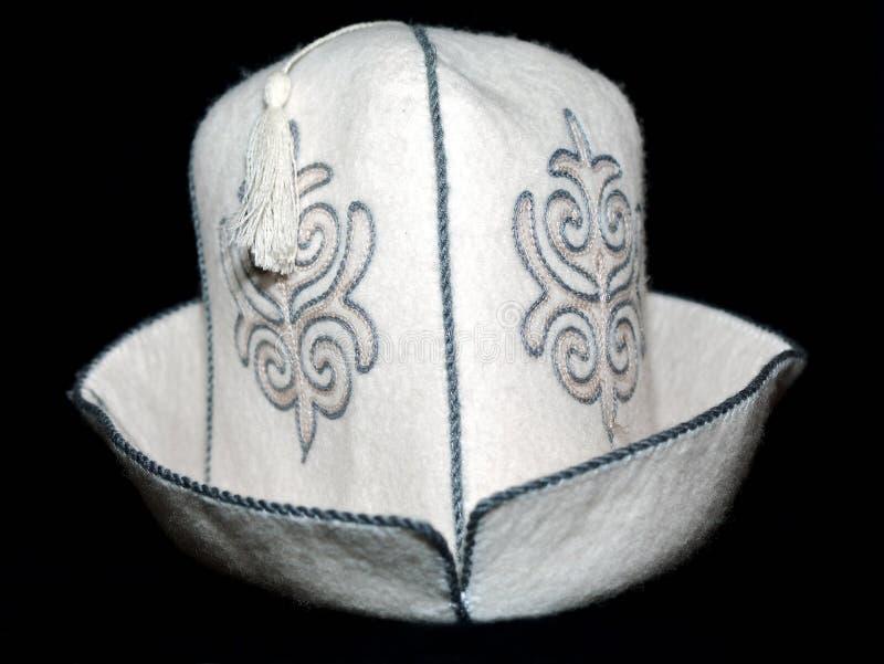 kapeluszowy kyrgyz fotografia royalty free