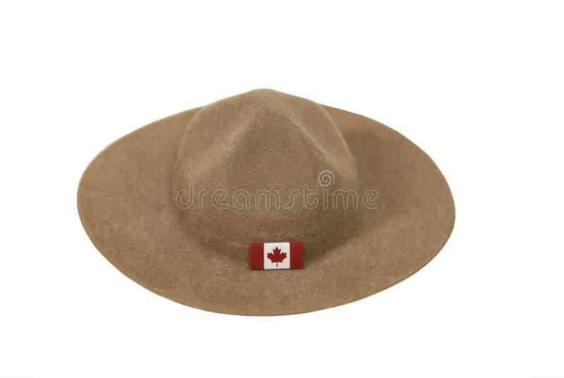 kapeluszowy mountie zdjęcie royalty free