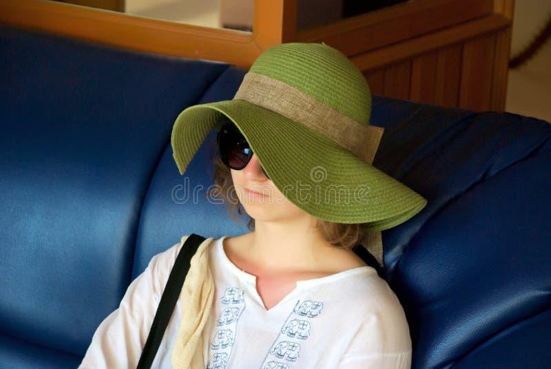 kapeluszowy nastolatek obraz royalty free