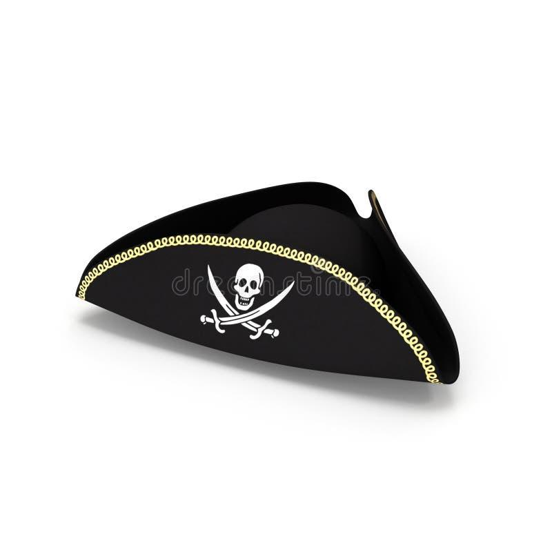 kapeluszowy pirat ilustracja wektor