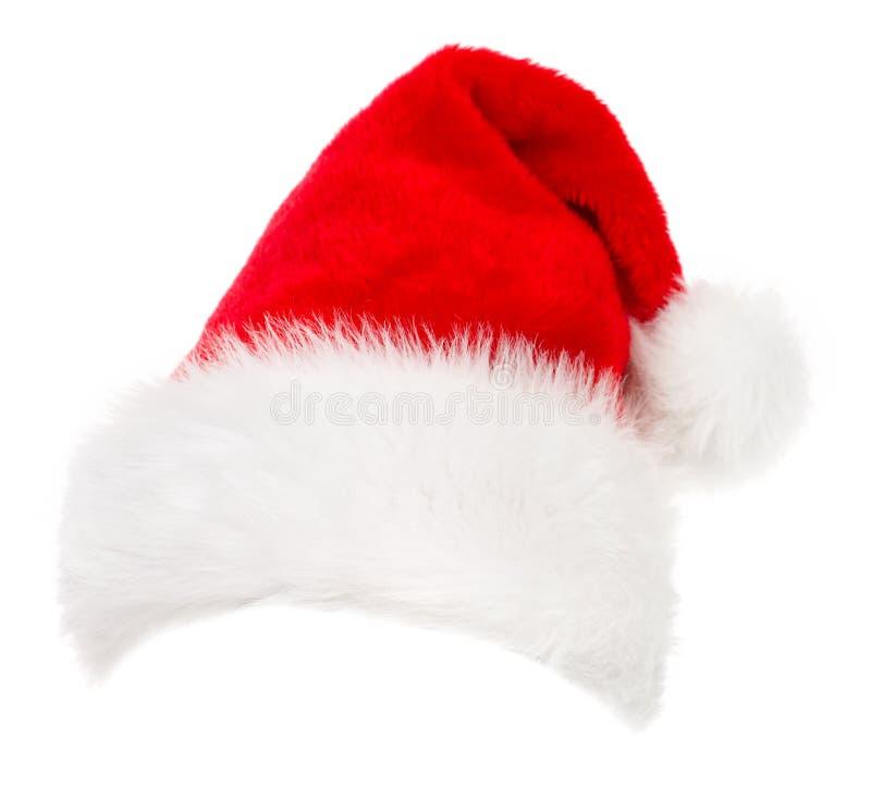 kapeluszowy Santa zdjęcia stock