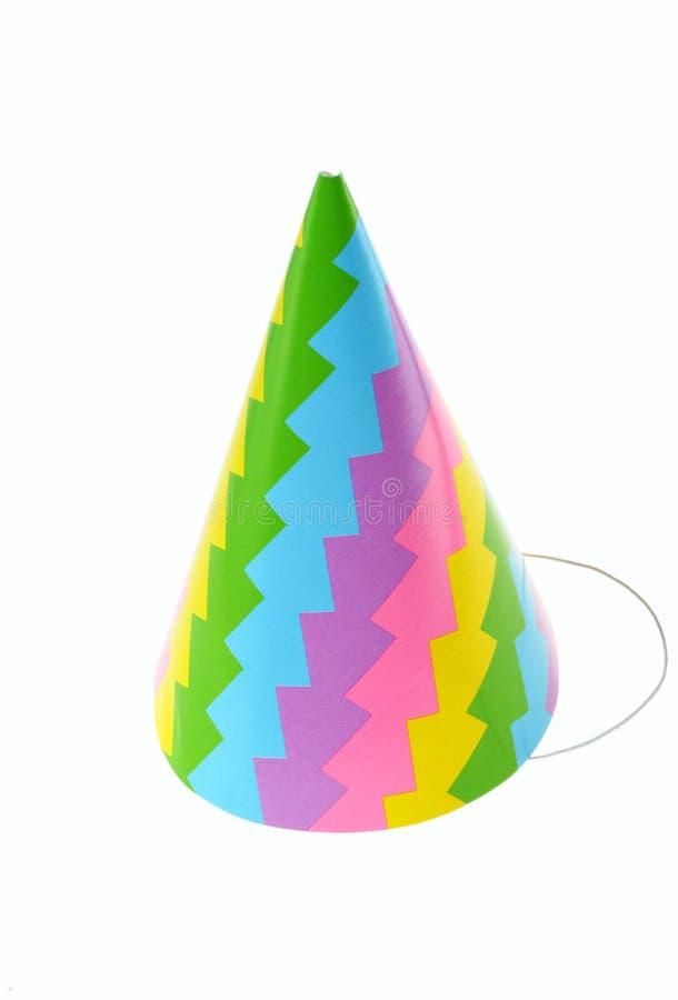 kapeluszu urodzinowy przyjęcie zdjęcie stock