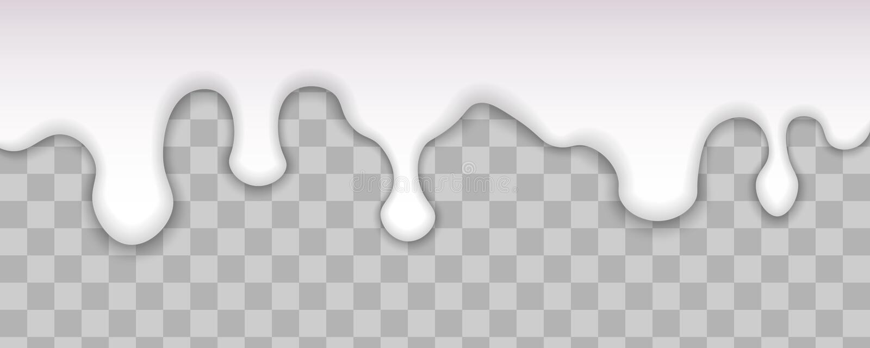Kapiący bielu mleko ilustracji