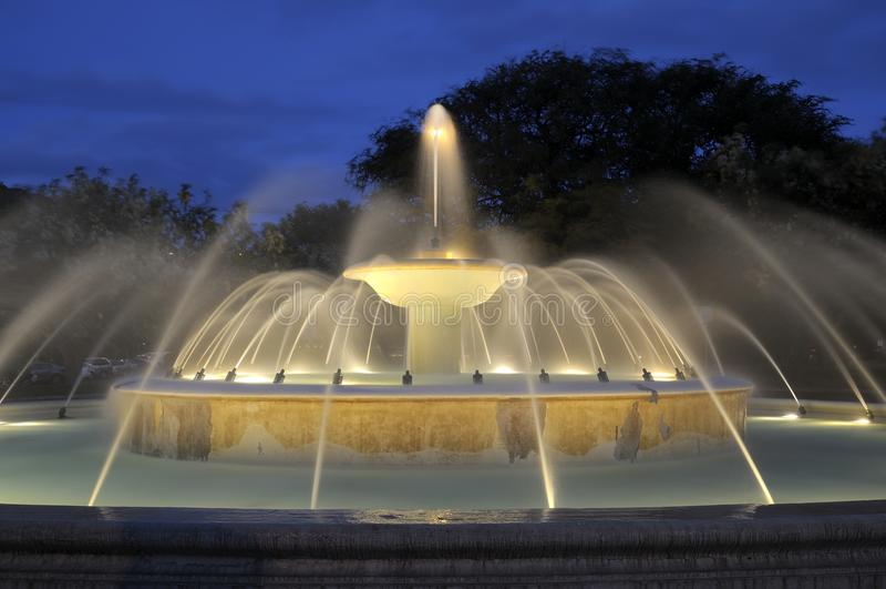 Kapiolani park fountain stock images