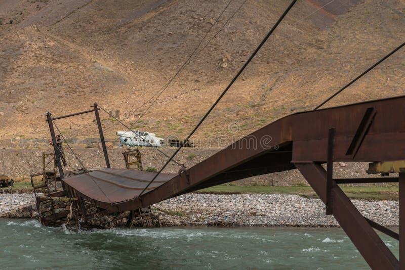 Kapisa-Tal in Afghanistan lizenzfreies stockbild