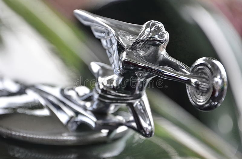 Kapiszonu ornament Od Packard fotografia stock