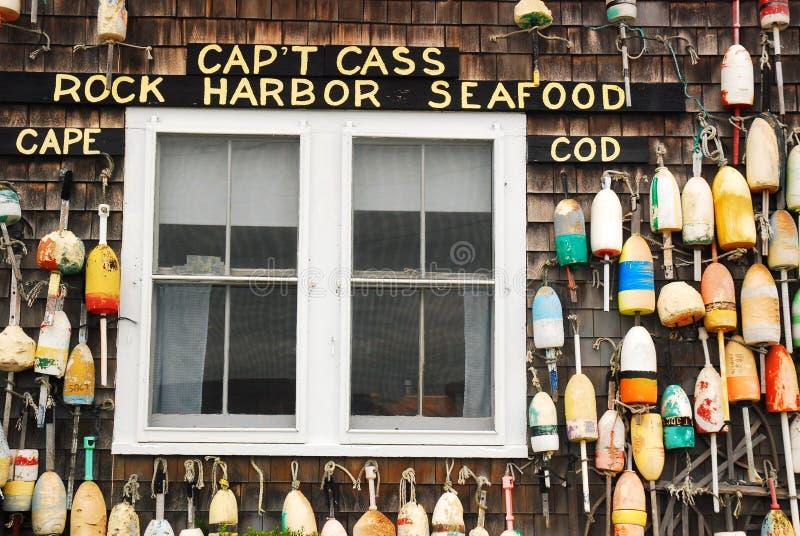 Kapitän Cass, Cape Cod lizenzfreie stockfotografie
