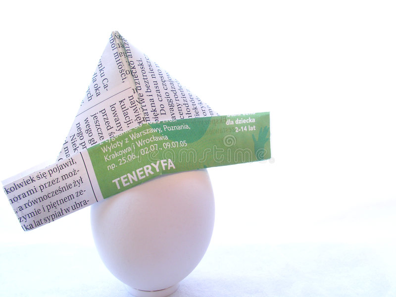 Kapitän Egghead Stockfotos